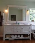 Statement bathroom furniture